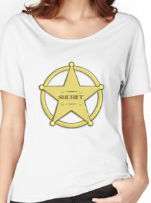 Sheriff's Badge Women's Relaxed Fit T-Shirt