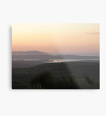 Soft evening light - Towards Downings Donegal  Ireland  Metal Print