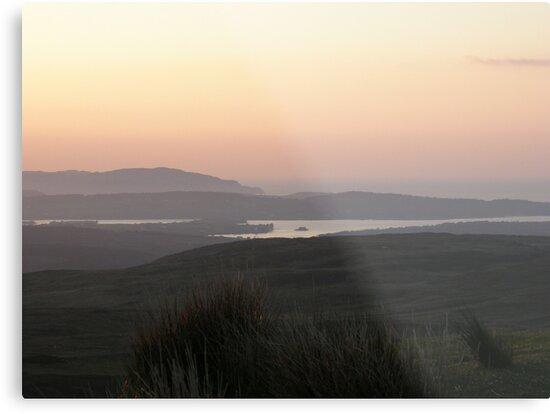 Soft evening light - Towards Downings Donegal  Ireland  by mikequigley