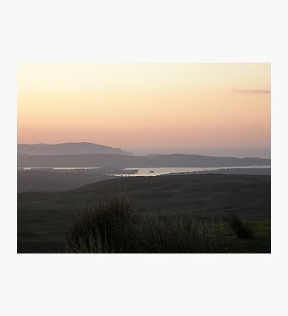 Soft evening light - Towards Downings Donegal  Ireland  Photographic Print