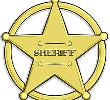Sheriff's Badge by AnMGoug