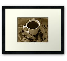 The Perfect Cup Framed Print
