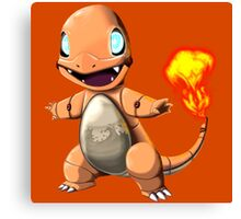 Charmander Bot Canvas Print