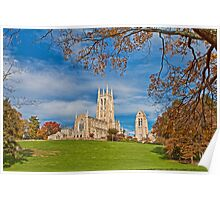 Cathedral. Bryn Athyn, Pennsylvania. Poster