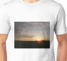 Distant Grainan sunset Unisex T-Shirt
