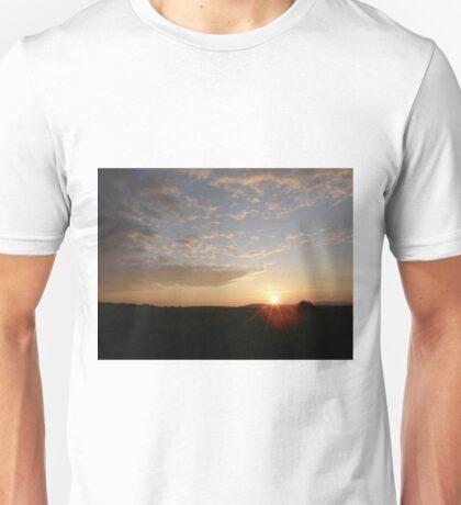 Distant Grainan sunset Unisex T-Shirt
