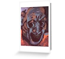 Grimace - Mono Silkscreen Greeting Card