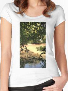 Oconee River Women's Fitted Scoop T-Shirt
