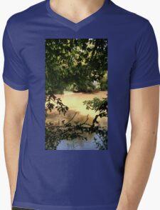 Oconee River Mens V-Neck T-Shirt