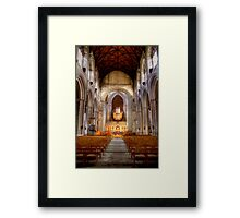 Looking Toward the Choir, Ripon Cathedral Framed Print