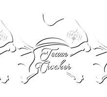 Haven Team Crocker White Pirate Hat Logo 2 by HavenDesign