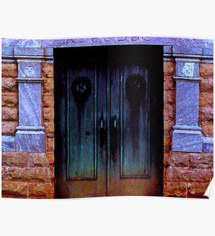 Mortuary Doors Poster