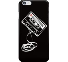 Cassette Tape Audio Analog Old School Music Geek Vintage Design iPhone Case/Skin