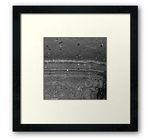 Fountain Streaming Framed Print