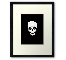 Bike Skull Framed Print
