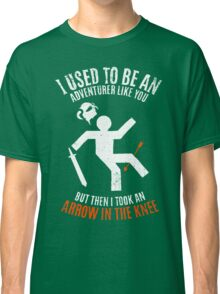 Arrow In the Knee 2.0 Classic T-Shirt