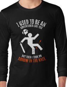 Arrow In the Knee 2.0 Long Sleeve T-Shirt