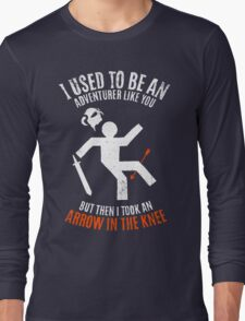 Arrow In the Knee 2.0 Long Sleeve T-Shirt