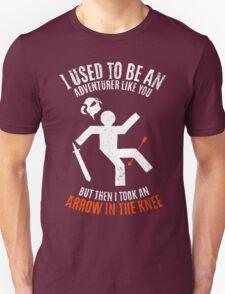 Arrow In the Knee 2.0 Unisex T-Shirt
