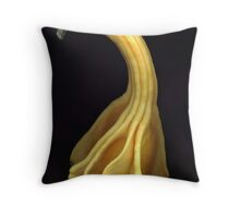 Yellow Gourd Throw Pillow