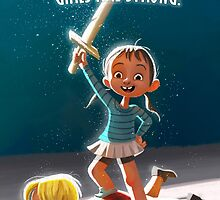 Girls are Strong! by Danielle Pioli