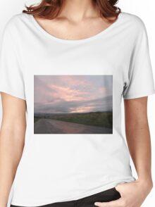 Pink sky -  Derry Ireland Women's Relaxed Fit T-Shirt