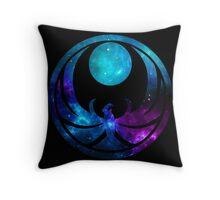 Nightingale Energies Throw Pillow