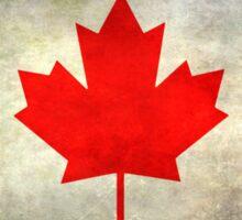 Canadian Flag Sticker