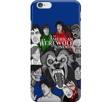American Werewolf in London original collage art iPhone Case/Skin