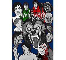 American Werewolf in London original collage art Photographic Print