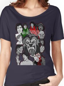 American Werewolf in London original collage art Women's Relaxed Fit T-Shirt