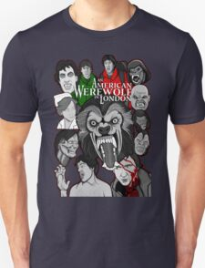 American Werewolf in London original collage art Unisex T-Shirt