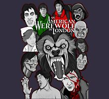 American Werewolf in London original collage art Unisex T-Shirt