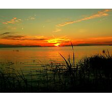 Lake Manitoba Sunrise Photographic Print