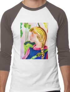 Little archer girl Men's Baseball ¾ T-Shirt