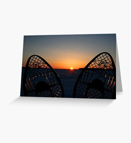 When Day is Done Greeting Card