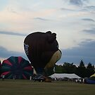 Hot Air Balloons II by Lorelle Gromus