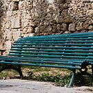 Bench Of Rhodes by phil decocco