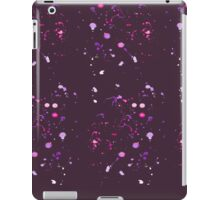Watercolor splashes. Space of colors. iPad Case/Skin