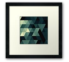 A Touch of Green Framed Print