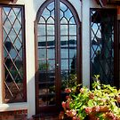 French Door Reflections by Carrie Blackwood