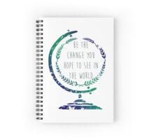 Be the Change Spiral Notebook