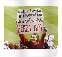 World Series Tickets Poster
