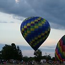 Hot Air Balloons IV by Lorelle Gromus