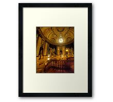The Palace of Dreams  - The State Theatre, Sydney Australia - The HDR Experience Framed Print