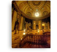 The Palace of Dreams  - The State Theatre, Sydney Australia - The HDR Experience Canvas Print