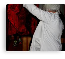 discovering mary Canvas Print