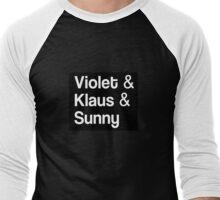 Violet & Klaus & Sunny Men's Baseball ¾ T-Shirt