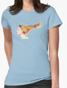 Girl With Colorful Hair T-Shirt