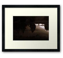 Reflections At Dusk Framed Print